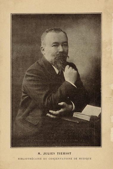 Julien Tiersot Bibliothécaire