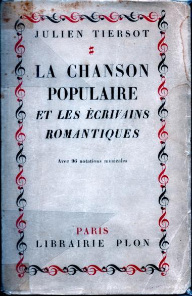 Julien Tiersot EcrivainsRomantiques