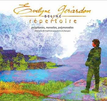 Évelyne Girardon : Répertoire