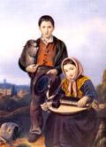 Couple de ramoneurs