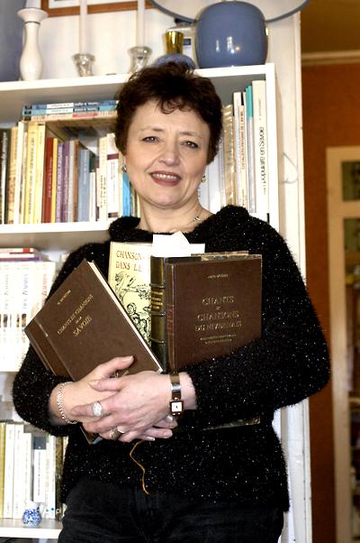 Evelyne Girardon et ses reccueils