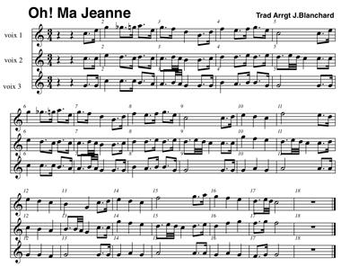 Oh ma jeanne