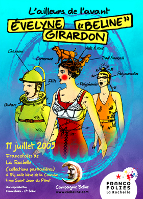 Spectacle Évelyne Girardon