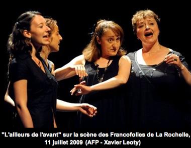 Evelyne Girardon aux Francosfolies
