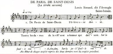 D'harcourt : chansons du Canada