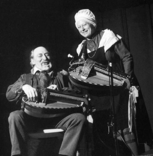 """Jules Devaux et Édith Montardon dite """"La Marie"""""""