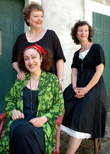 Evelyne Girardon, Soraya Mahdaoui, Yannick Guilloux.