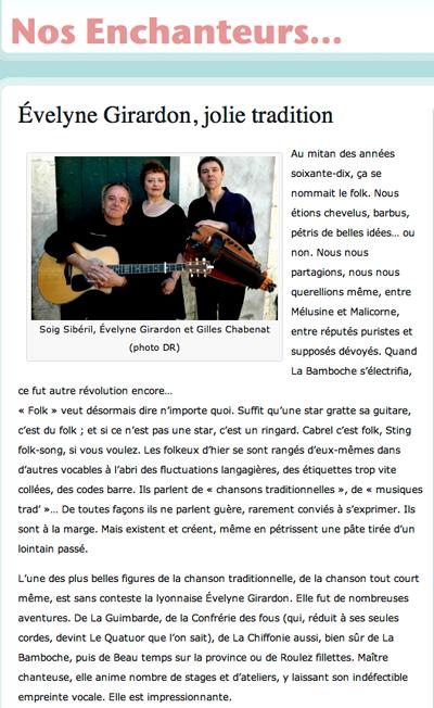 Evelyne Girardon-CD