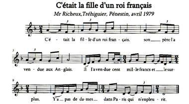 La fille d'un roi français