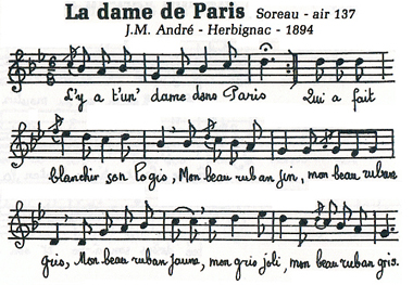 La Dame de Pariis