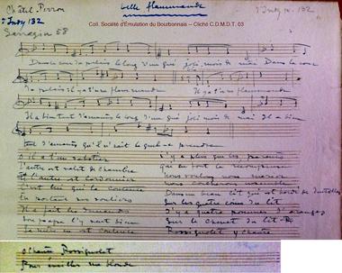 Notation marguerite Gauthier Villard