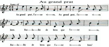 Chanson d'Ardèche