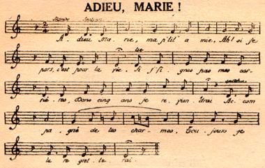 Adieu Marie