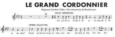 Grand cordonnier