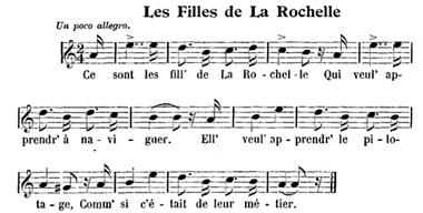 Les filles de la Rochelle