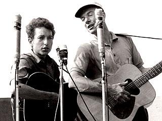 Bob Dylan-Pete Seeger