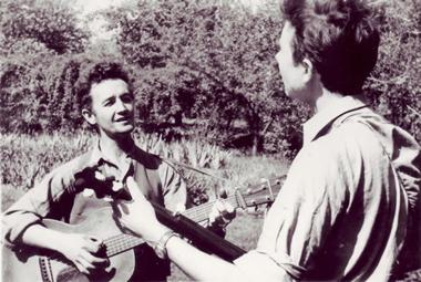 Woody Guthrie - Pete Seeger 1950