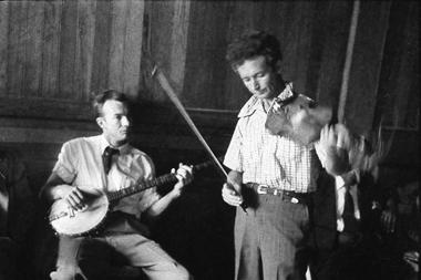 Pete Seeger-Woody Guthrie au violon