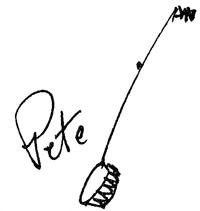 Signature de Pete Seeger