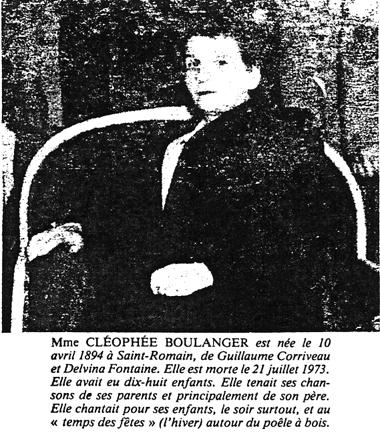 Cléophée  Boulanger