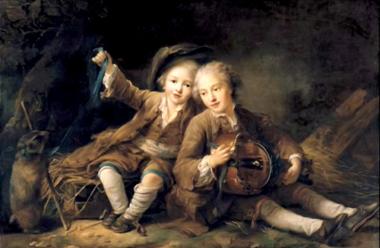 Enfants vielleux